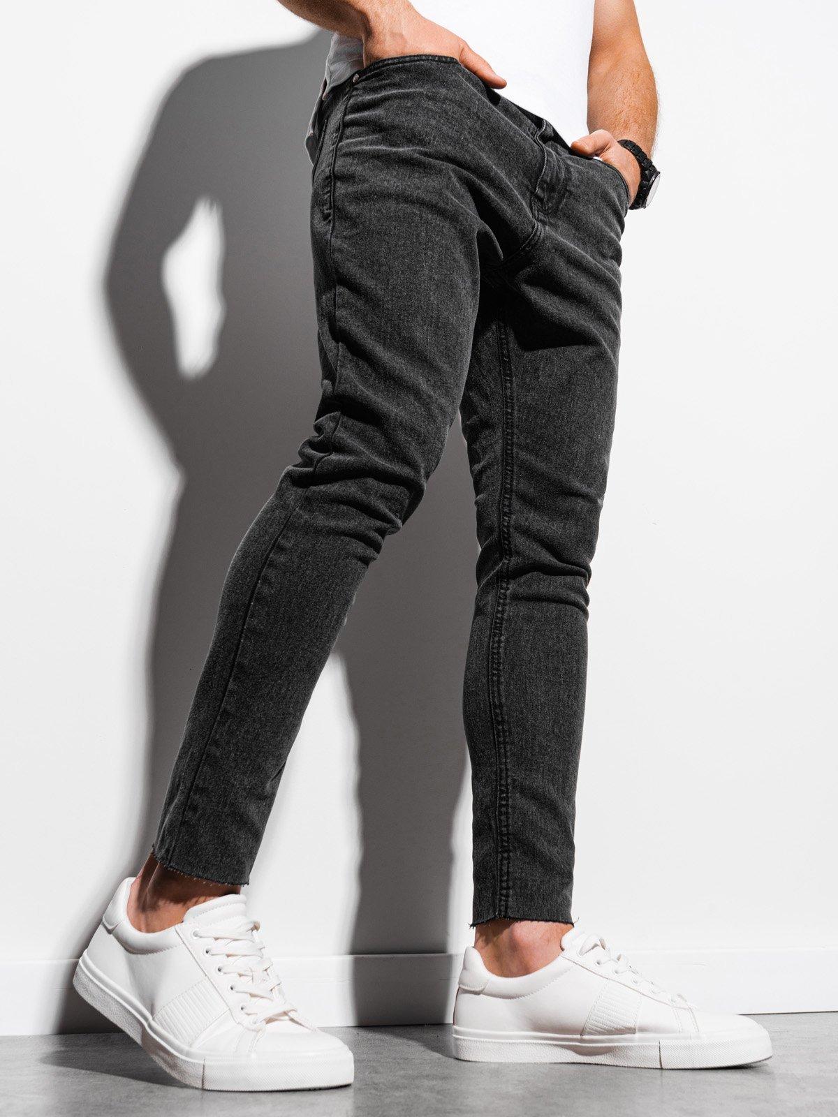 Pánské riflové kalhoty P923 - černé