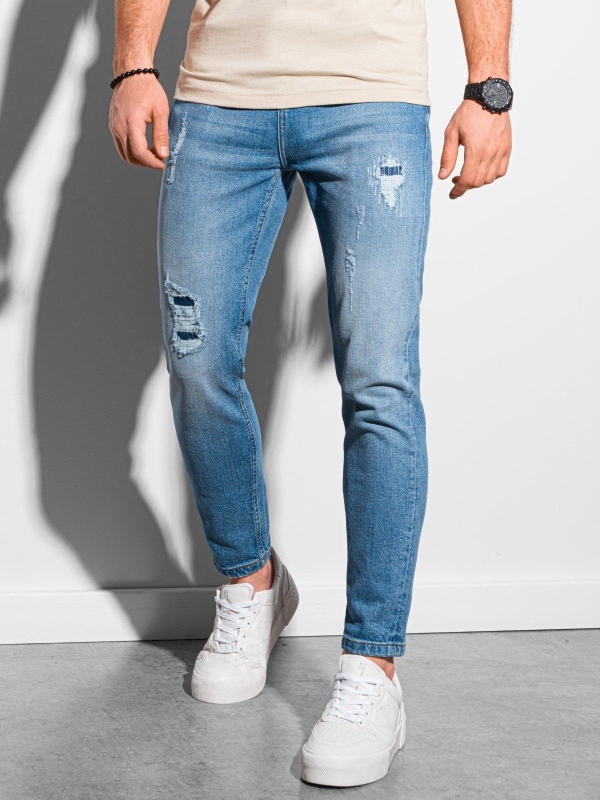 Pánské riflové kalhoty P938 - modra