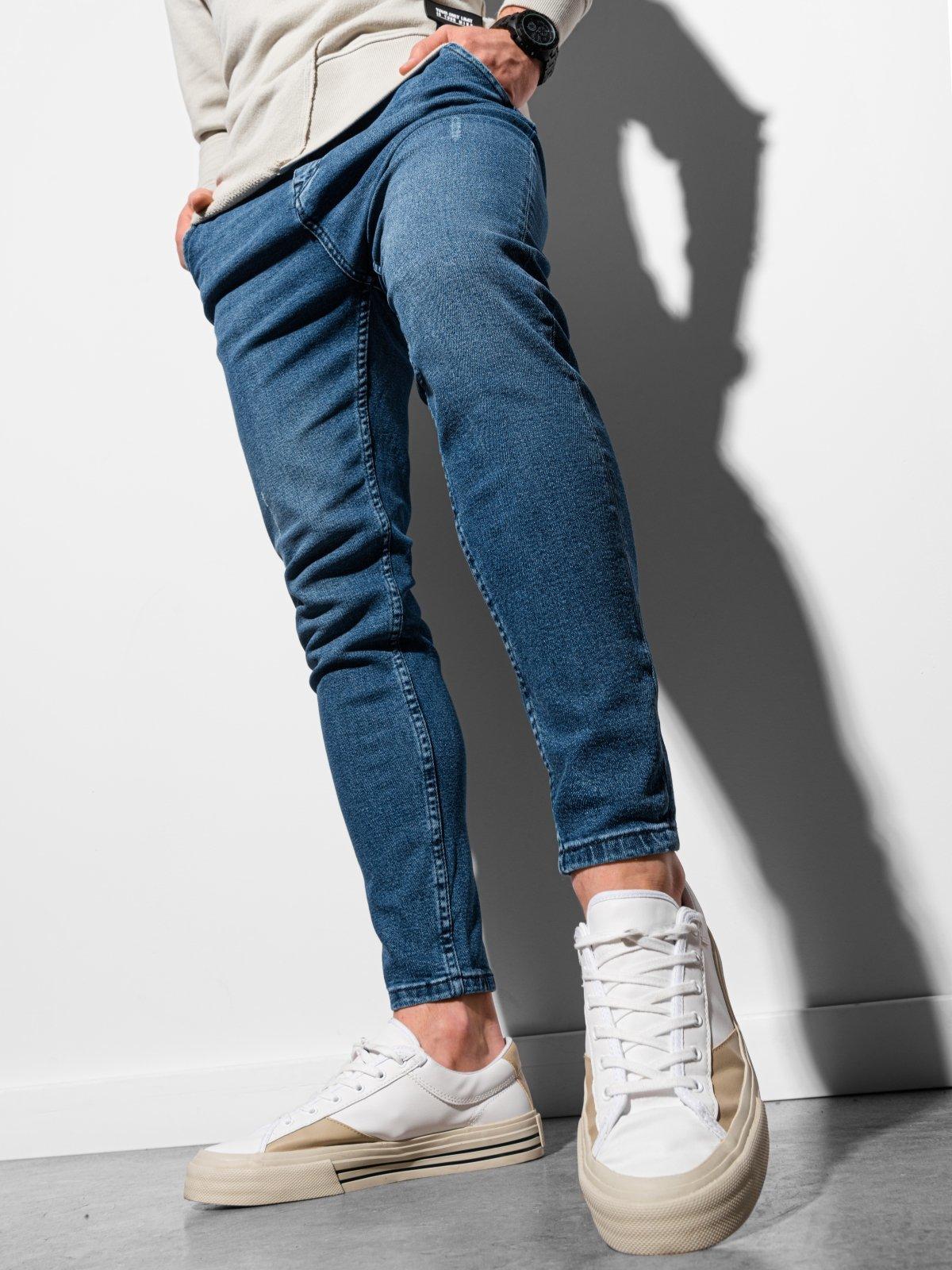 Pánské riflové kalhoty P937 - modra