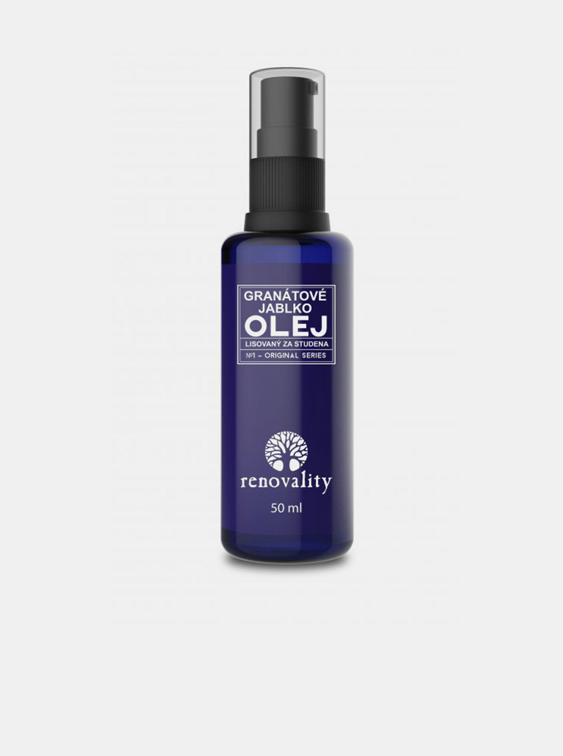 Olej z granátového jablka pro všechny typy pleti RENOVALITY (50 ml)