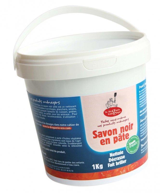 La Droguerie Ecologique by Ecodis Univerzální černé mýdlo BIO - pasta (1 kg)