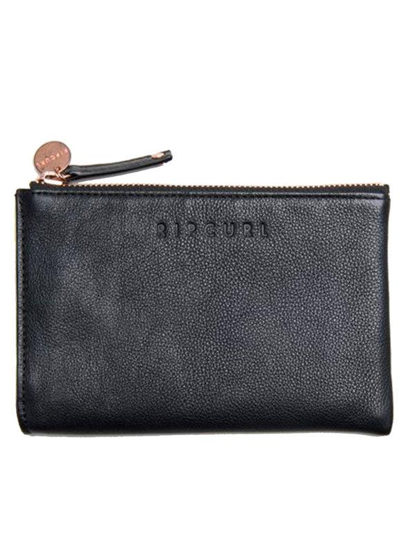 Rip Curl MINI RFID black dámská značková peněženka - černá