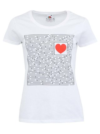 Tricou ZOOT Original Find the Way alb de dama