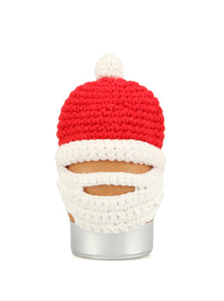 Háčkovaná čiapočka na vajíčko Donkey Santa Egg
