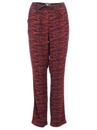 Černo-červené dámské žíhané kalhoty Scotch & Soda