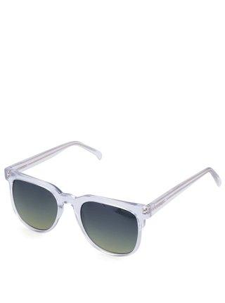 Transparentné unisex slnečné okuliare Komono Riviera