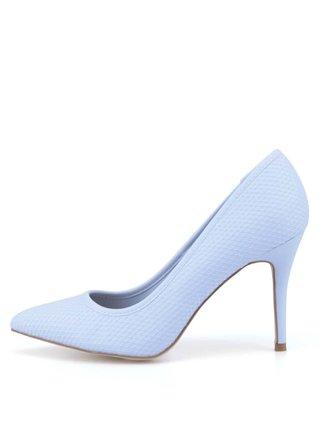 Světle modré vzorované lodičky New Look