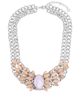 Marhuľový náhrdelník Pieces Noralyn