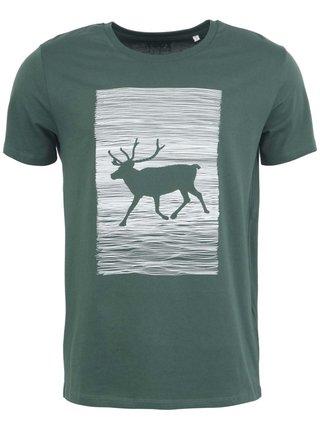 Tricou verde ZOOT Original cu imprimeu pentru barbati