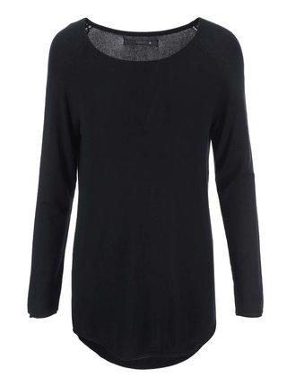 Čierny dlhý sveter ONLY Mila
