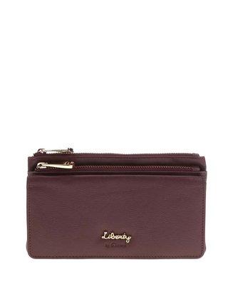 Hnedá peňaženka na zips Liberty by Gionni Zuri