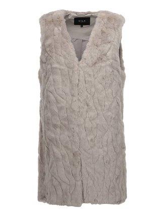 Vesta de blana Perla, creata de VILA - bej