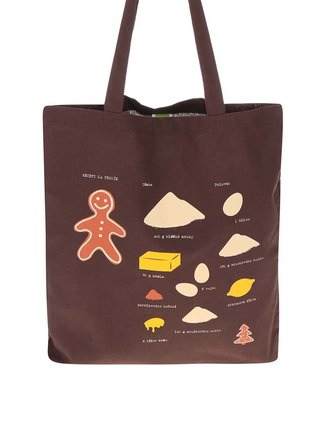Hnedá taška ZOOT Originál Recept na perník