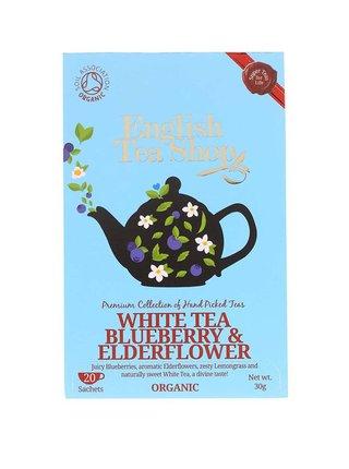 Biely čaj English Tea Shop Baza a Čučoriedka Bio