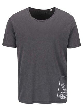 """""""Dobré"""" šedé pánské tričko pro Jeden Svět"""