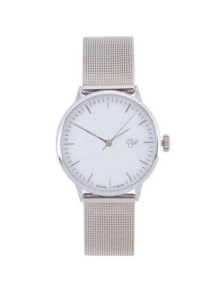 Dámske hodinky v striebornej farbe  CHPO Nando Mini Silver