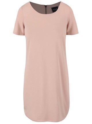 Starorůžové šaty VILA Tinny