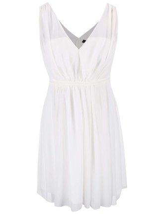 Bílé šaty VILA Cotina