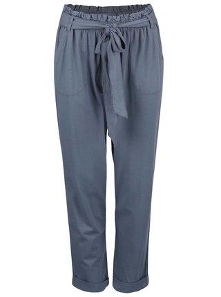 Sivomodré nohavice na voľný čas DEHA