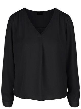 Bluza neagra lejera cu buline -  VILA Melli
