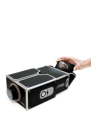 Proiector video negru Luckies pentru telefonul mobil