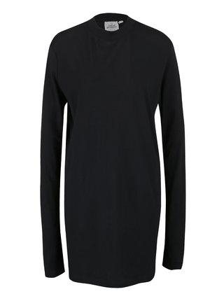 Čierne dámske šaty s dlhým rukávom Cheap Monday Strict