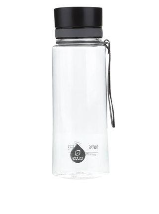 Čierna plastová fľaša EQUA (600 ml)