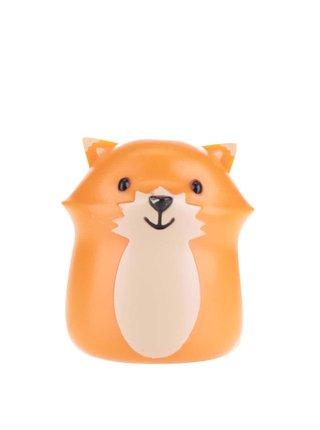 Oranžový držiak na zubnú kefku Kikkerland Fox