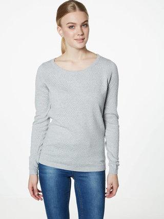 Svetlosivý vzorovaný sveter VERO MODA Care
