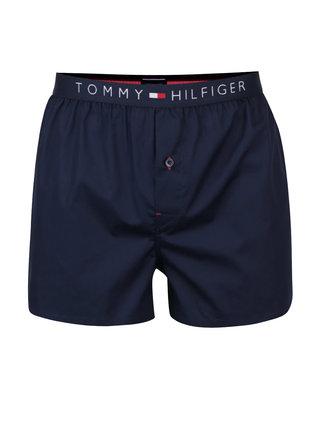 Tmavomodré pánske trenírky Tommy Hilfiger