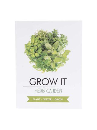 Súprava na vypestovanie byliniek Gift Republic Grow it