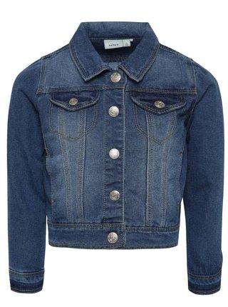 Jacheta albastra pentru baieti Name it Star din denim