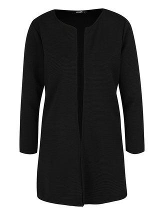 Čierne rebrované sako Haily's Sandy