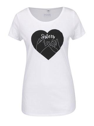 Biele dámske tričko ZOOT Originál Sisters