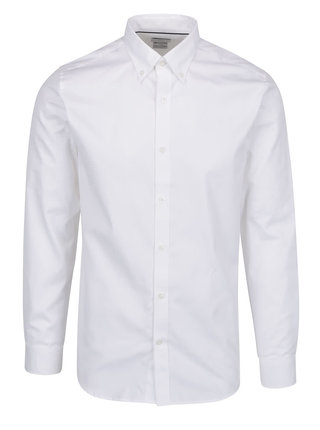 Camasa alba din bumbac  - Selected Homme Done