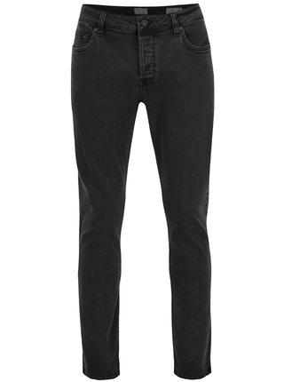 Tmavě šedé slim džíny ONLY & SONS Loom