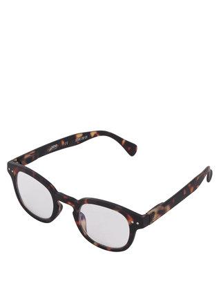 Hnědo-černé ochranné brýle k PC IZIPIZI #C