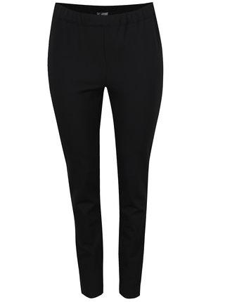Černé slim kalhoty s pružným pasem Ulla Popken