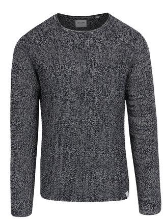 Čierno-biely sveter ONLY & SONS Sato