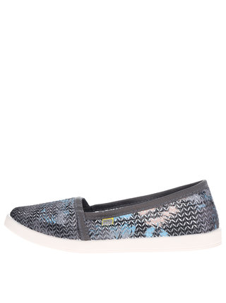 Tenisi slip-on multicolori de dama Oldcom Tropic