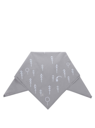 """""""Dobrý"""" šedý šátek pro Asociaci lesních MŠ"""