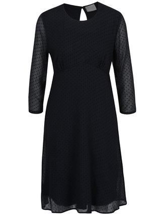 Rochie neagra cu model discret - VILA Amo