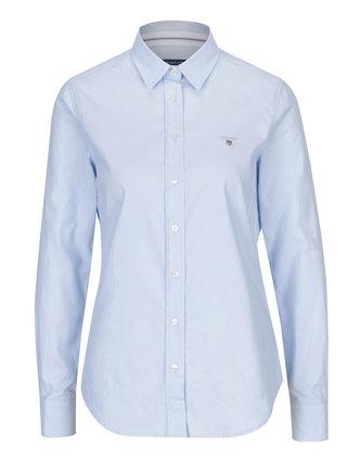 Světle modrá dámská slim košile GANT