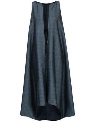 Tyrkysová dámská dlouhá vesta Bianca Popp
