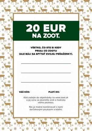 Elektronický poukaz zo ZOOTu v hodnote 20 €