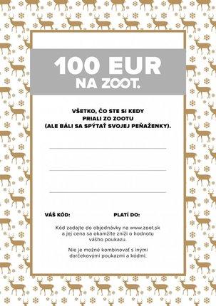 Elektronický poukaz zo ZOOTu v hodnote 100 €