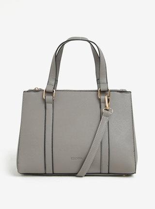 Sivá kabelka s detailmi v zlatej farbe Esoria Lilza