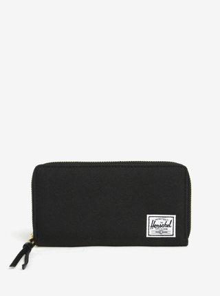 Čierna peňaženka na zips Herschel Supply Thomas
