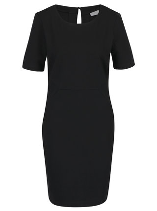 Čierne puzdrové šaty VILA Fellow