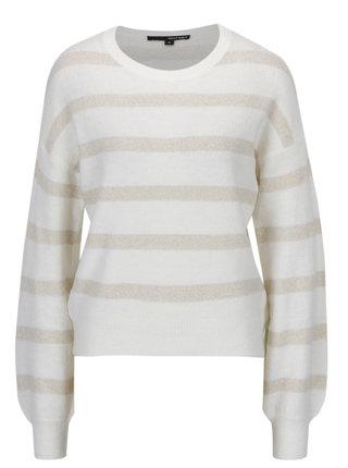 Krémový ligotavý sveter TALLY WEiJL